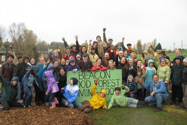 opening Beacon Food Forest