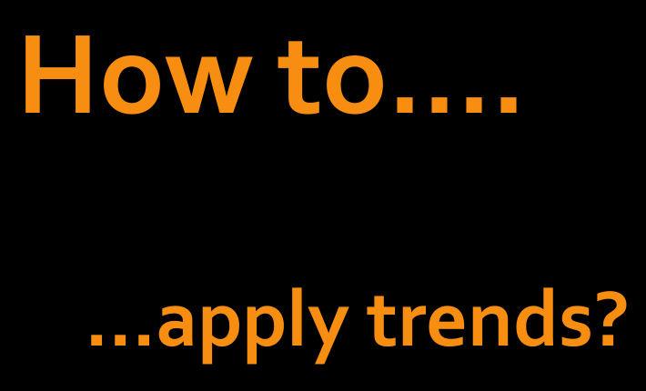 Hoe gebruik je trends als horecaondernemer?
