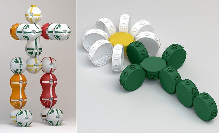 Pinar Sut packaging by Bora Yildirim via Behance.net