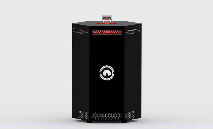 kukki cocktail toaster black