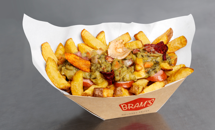 patatje ´Winterse Snert Stoof´van BRAM´S Gourmet Frites