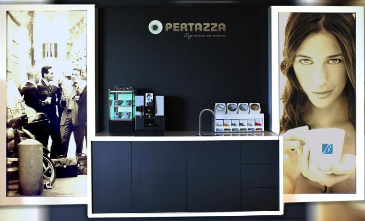 PerTazza - Made Blue Waterbar