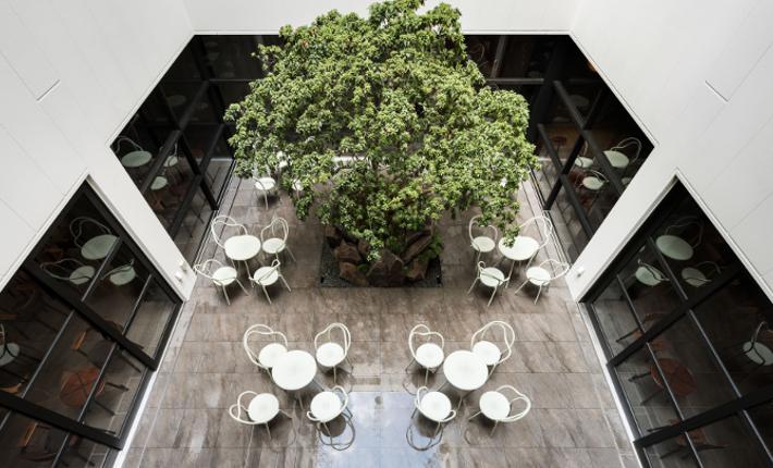 terrace Enso Ango building Tomi ll - credits Tomooki Kengaku