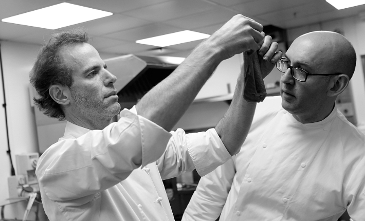 wastED - Dan Barber and Adam Kaye testing recipes at Selfridges